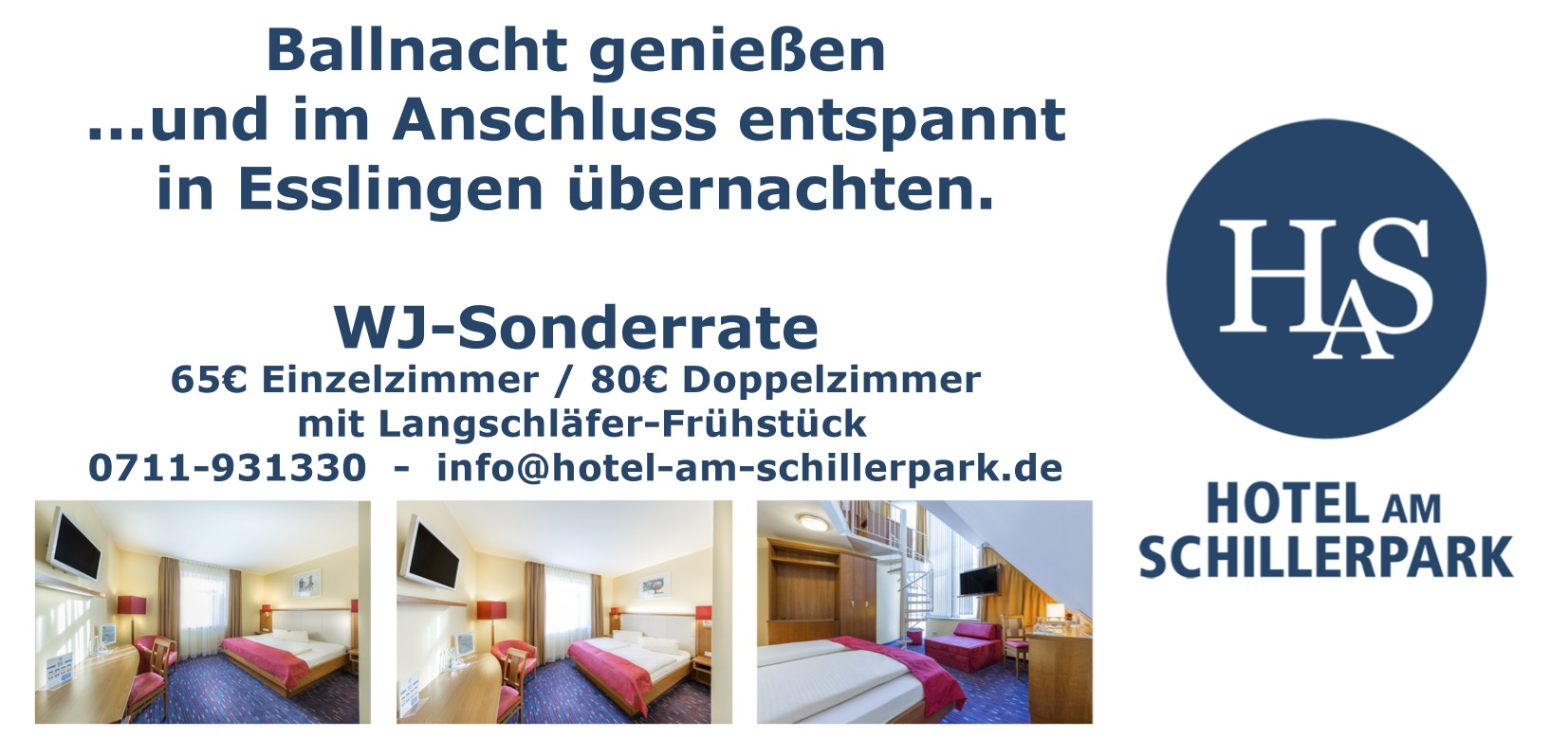 Ballangebot Hotel am Schillerpark